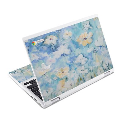 Acer Chromebook R11 Skin - White & Blue