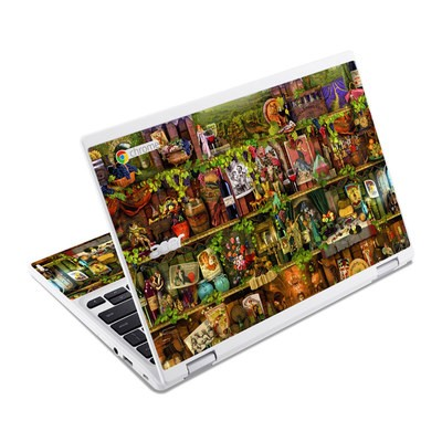 Acer Chromebook R11 Skin - Wine Shelf