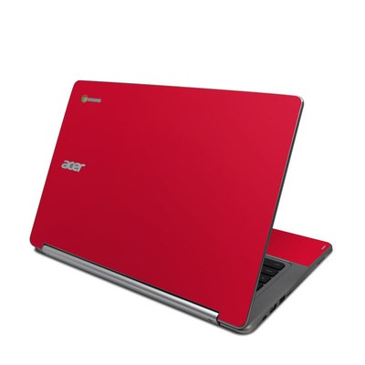 Acer Chromebook R13 Skin - Solid State Red