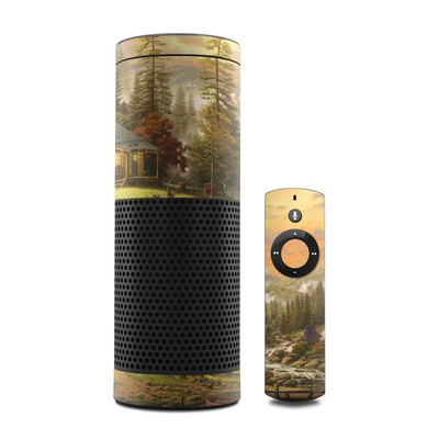 Amazon Echo Skin - A Peaceful Retreat