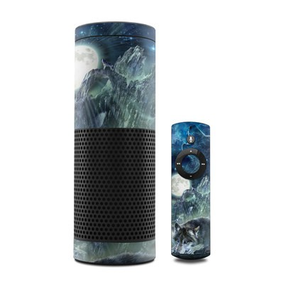 Amazon Echo Skin - Bark At The Moon