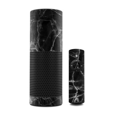 Amazon Echo Skin - Black Marble