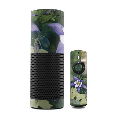 Amazon Echo Skin - Colorado Columbines