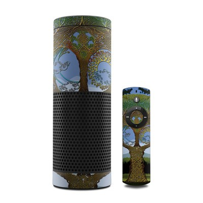 Amazon Echo Skin - Celtic Tree