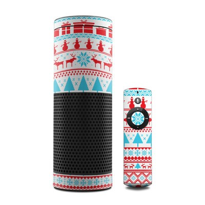 Amazon Echo Skin - Comfy Christmas