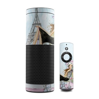 Amazon Echo Skin - Cafe Paris