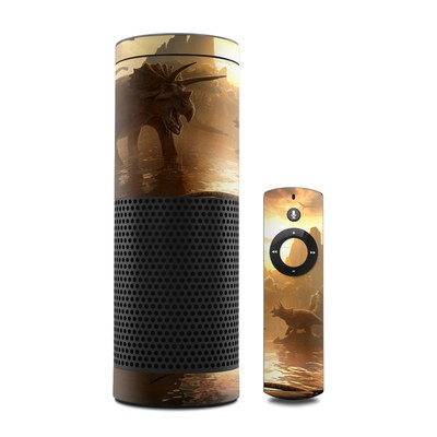 Amazon Echo Skin - Cretaceous Sunset