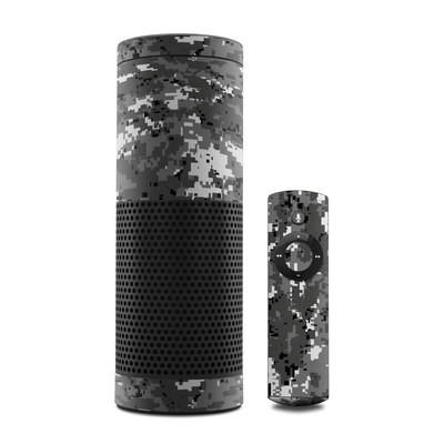 Amazon Echo Skin - Digital Urban Camo