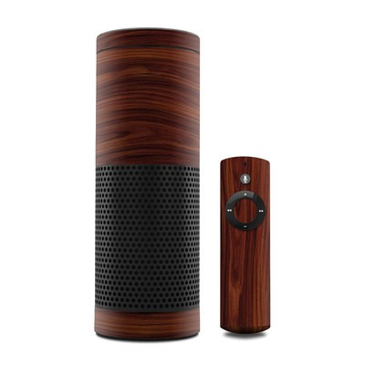 Amazon Echo Skin - Dark Rosewood