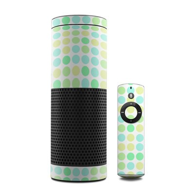 Amazon Echo Skin - Big Dots Mint