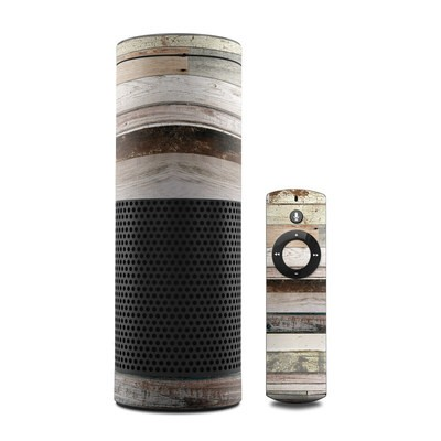 Amazon Echo Skin - Eclectic Wood