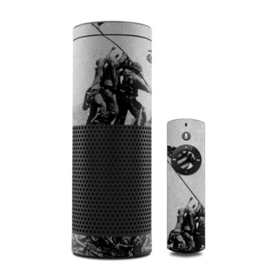 Amazon Echo Skin - Flag Raise