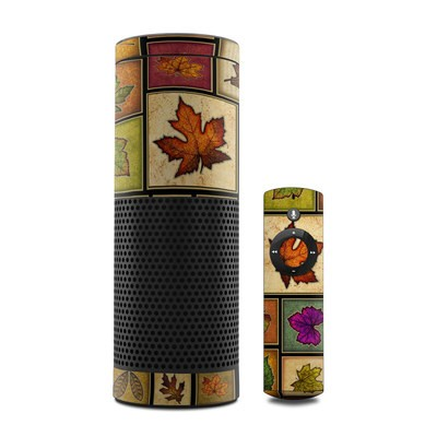 Amazon Echo Skin - Fall Leaves