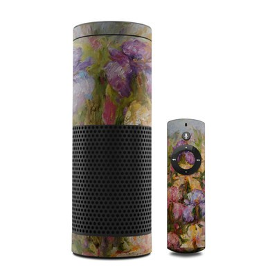 Amazon Echo Skin - Field Of Irises
