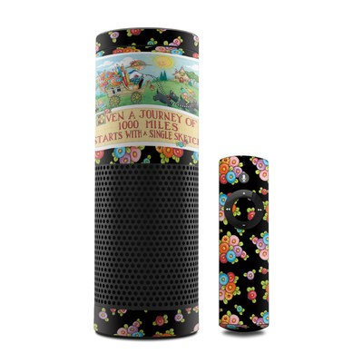 Amazon Echo Skin - Forty Year Journey