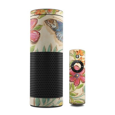 Amazon Echo Skin - Garden Scroll