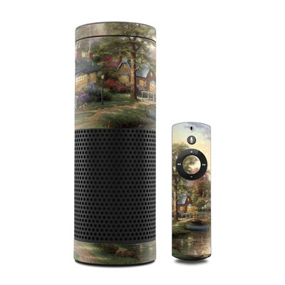 Amazon Echo Skin - Hometown Lake
