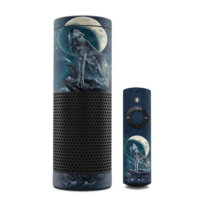 Amazon Echo Skin - Howling Moon Soloist