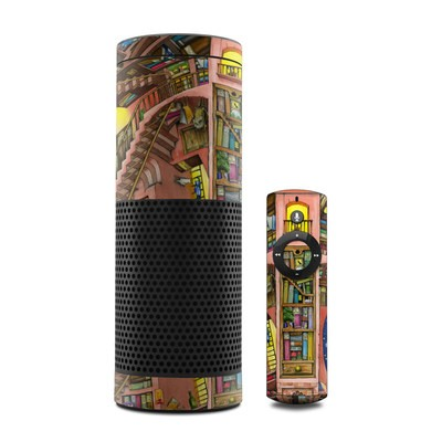 Amazon Echo Skin - Library Magic
