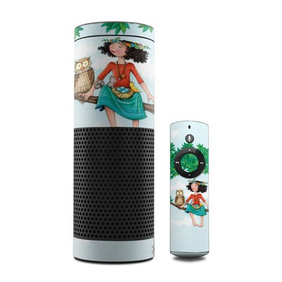 Amazon Echo Skin - Never Alone