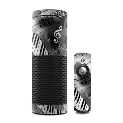 Amazon Echo Skin - Piano Pizazz