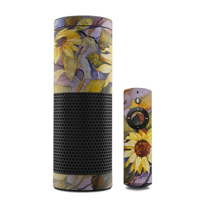 Amazon Echo Skin - Sunflower
