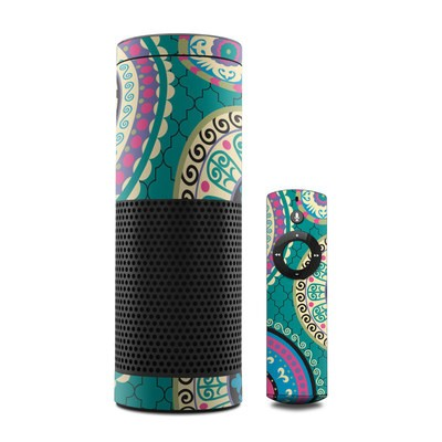 Amazon Echo Skin - Silk Road