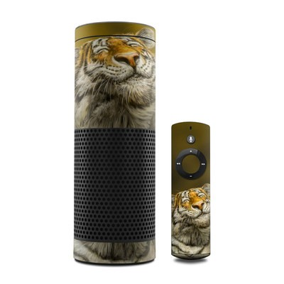 Amazon Echo Skin - Smiling Tiger