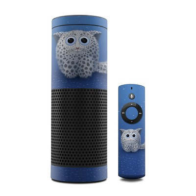 Amazon Echo Skin - Snow Leopard