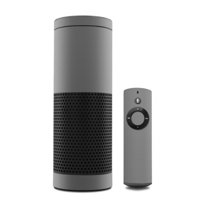 Amazon Echo Skin - Solid State Grey