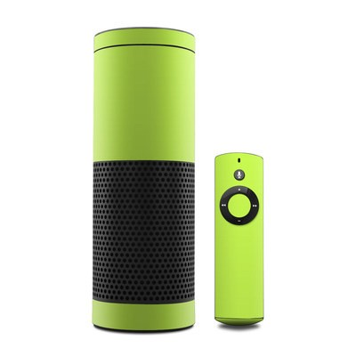 Amazon Echo Skin - Solid State Lime