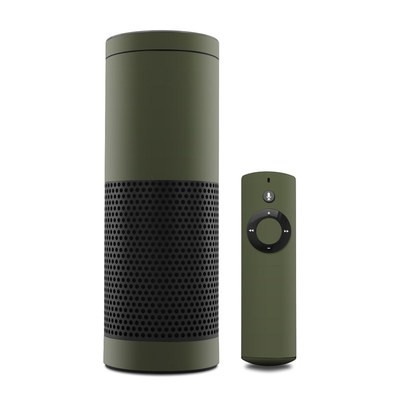 Amazon Echo Skin - Solid State Olive Drab