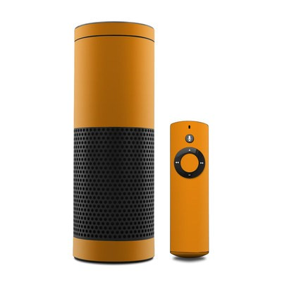 Amazon Echo Skin - Solid State Orange