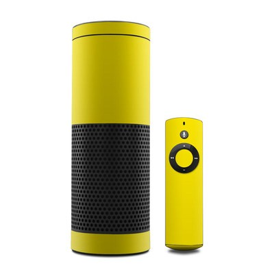 Amazon Echo Skin - Solid State Yellow