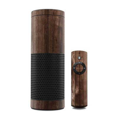 Amazon Echo Skin - Stained Wood