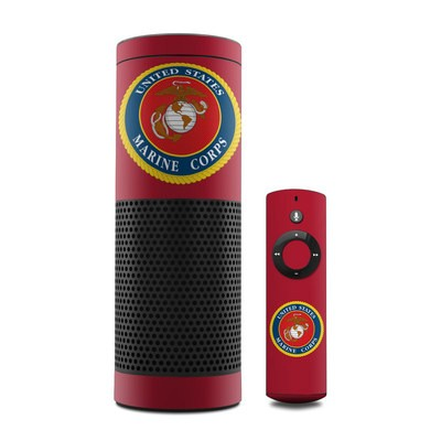 Amazon Echo Skin - USMC Red