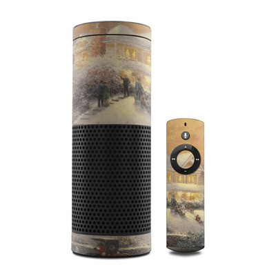 Amazon Echo Skin - Victorian Christmas