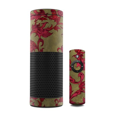 Amazon Echo Skin - Vintage Scarlet