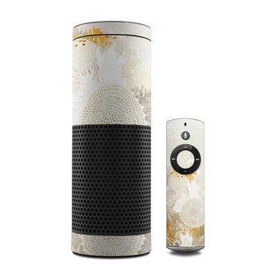 Amazon Echo Skin - White Velvet
