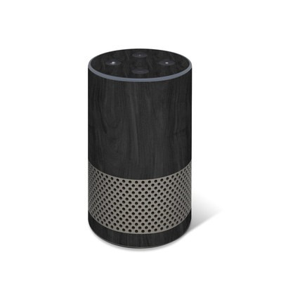 Amazon Echo 2017 Skin - Black Woodgrain