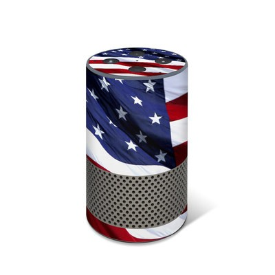 Amazon Echo 2017 Skin - Patriotic
