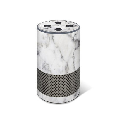 Amazon Echo 2017 Skin - White Marble