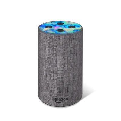 Amazon Echo 2017 Top Only Skin - Electrify Ice Blue