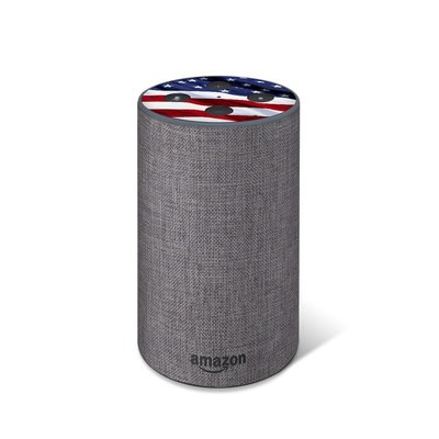 Amazon Echo 2017 Top Only Skin - Patriotic