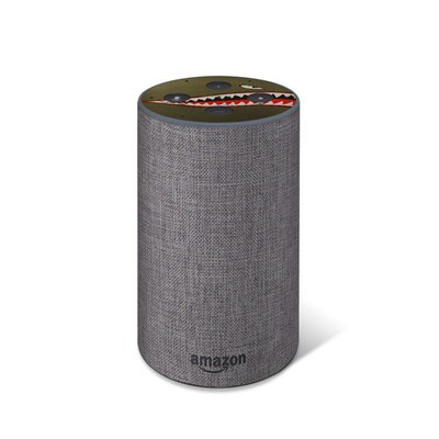 Amazon Echo 2017 Top Only Skin - USAF Shark