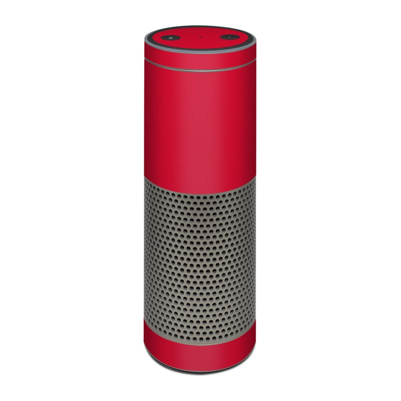 Amazon Echo Plus Skin Solid State Red By Solid Colors Decalgirl
