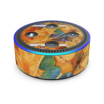 Amazon Echo Dot 2nd Gen Skin - Autumn Days