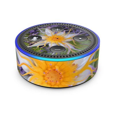 Amazon Echo Dot 2nd Gen Skin - Bali Dream Flower
