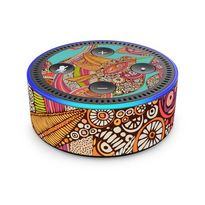 Amazon Echo Dot 2nd Gen Skin - Bird In Paradise