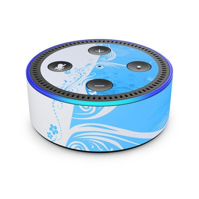 Amazon Echo Dot 2nd Gen Skin - Blue Crush